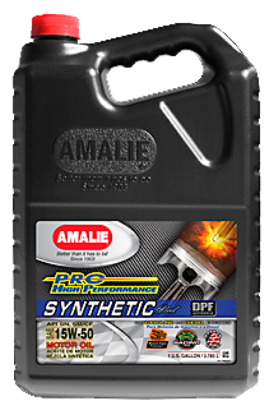 SAE 15W50 Amalie PRO High Perf Synthetic 1gallon(3.78л) масло моторное