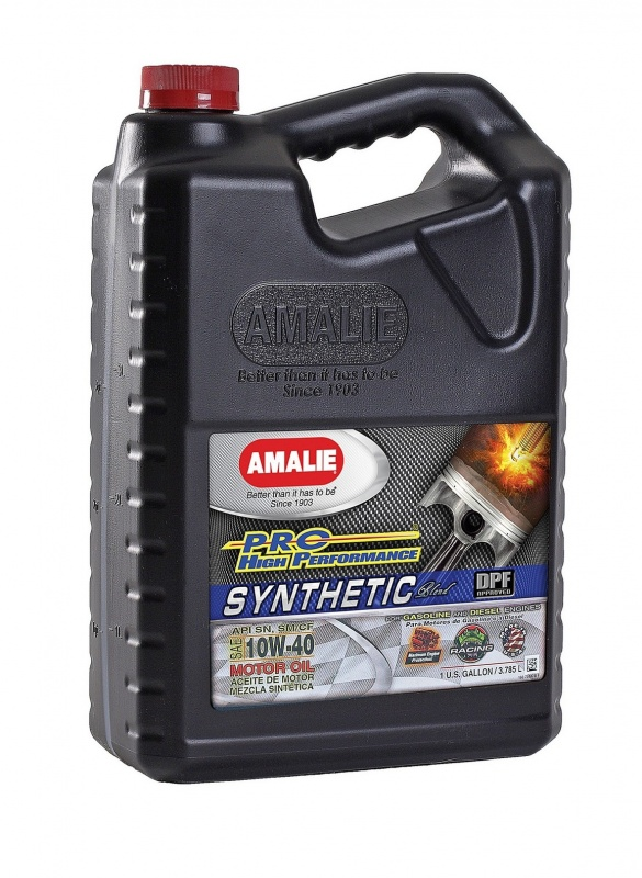 SAE 10W40 Amalie PRO High Perf Synthetic 1gallon(3.78л) масло моторное