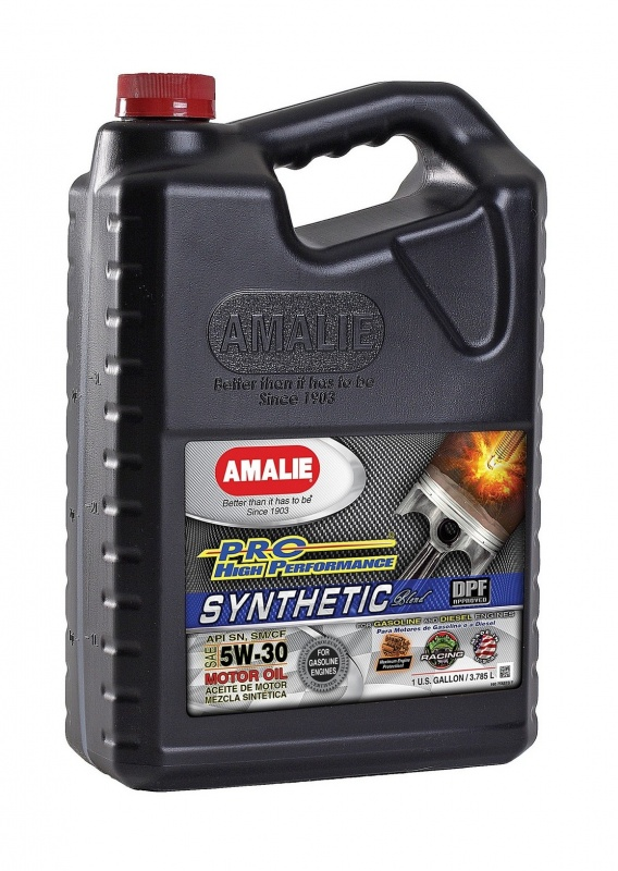 SAE 5W30 Amalie PRO High Perf Synthetic 1gallon(3.78л) масло моторное