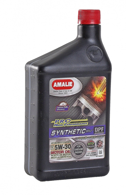 SAE 5W30 Amalie PRO High Perf Synthetic 1q-ta(0,946л) масло моторное