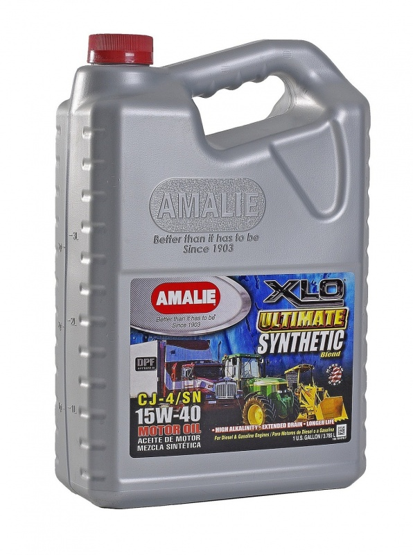 SAE 15W40 Amalie XLO Ultimate Synthetic 1gallon(3.78л) масло моторное