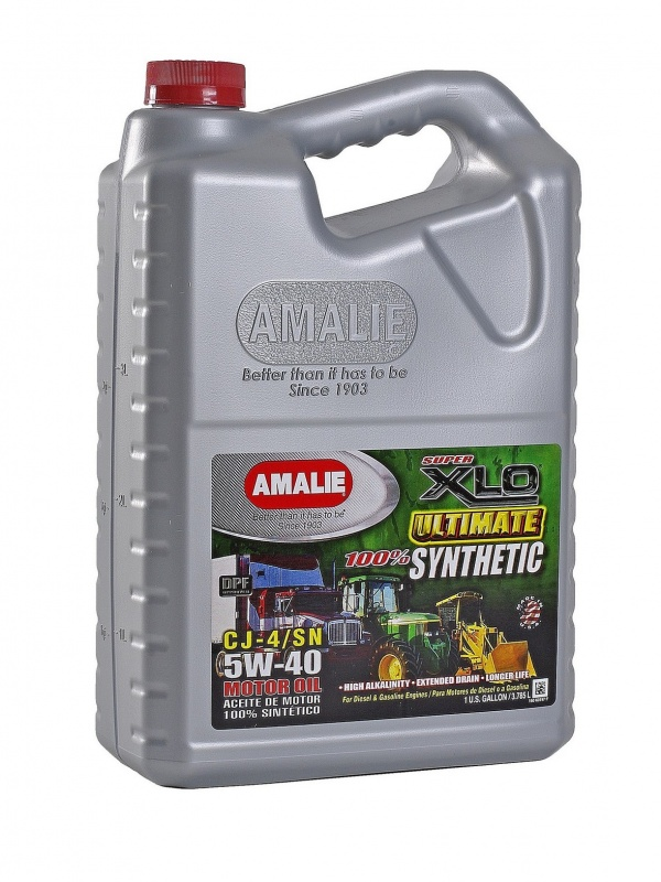 SAE 5W40 Amalie XLO Ultimate 100% Synthetic 1gallon(3,78л) масло моторное