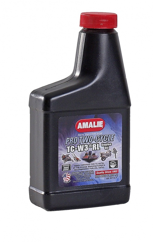 Amalie Pro Two-Cycle TC-W 3 RL 8oz(0.237л) масло моторное